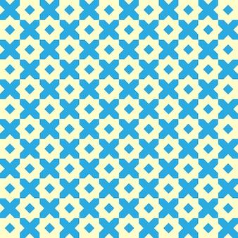 Motivo geometrico vintage senza soluzione di continuità.