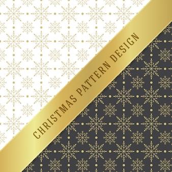 Motivo natalizio per carta da regalo e biglietto di auguri