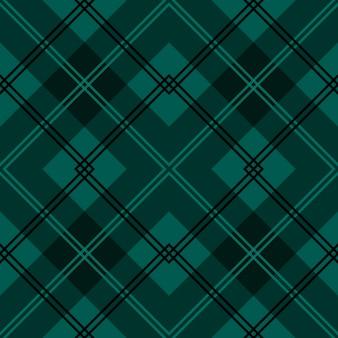 Motivo tessile colorato a strisce scozzese verde