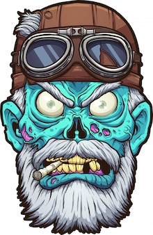 Motociclista zombi