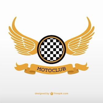 Motoclub logo vettoriale
