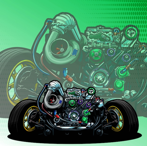 Motore a motore