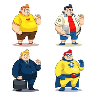 Mr. bigger personaggi