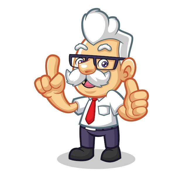 Mr narrative mascot design