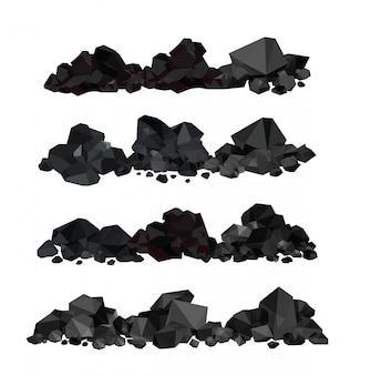 Mucchio di carbone