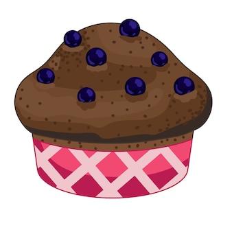 Muffin ai mirtilli fatto in casa
