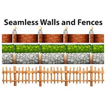 Muri e recinzioni collezione