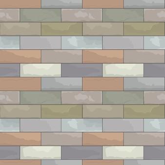 Muro di arenaria modello senza soluzione di continuità vettore.