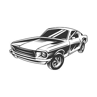 Muscle car vintage