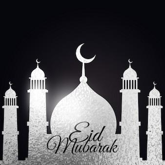 Musulmana eid festival di sfondo