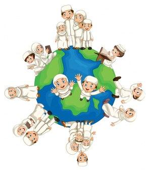 Musulmani in tutto il mondo