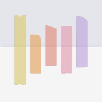 Nastri adesivi colorati con nastro adesivo scozzese