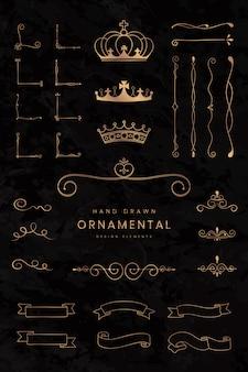 Nastri e divisori ornamentali