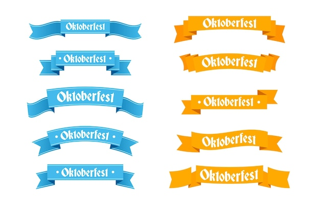 Nastri oktoberfest design piatto