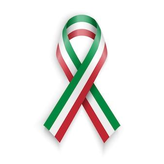 Nastro con bandiera italiana.