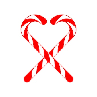 Natale amore candy cane cross love