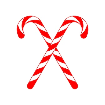Natale candy cane cross