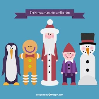 Natale caratteri collezione