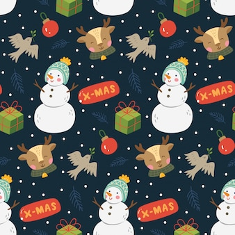 Natale carino senza soluzione di continuità