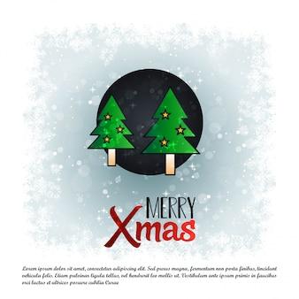 Natale natale sfondo allegro
