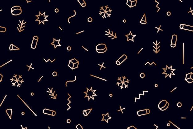 Natale seamless pattern.