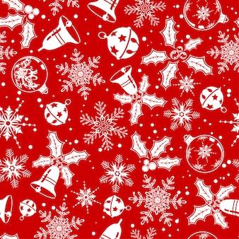 Natale senza soluzione di sfondo