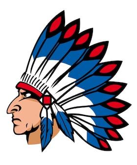 Nativi americani con le piume