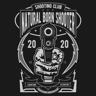 Natural born shooter