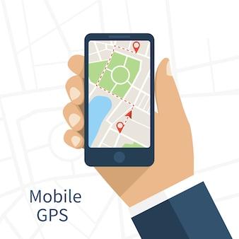 Navigazione gps mobile