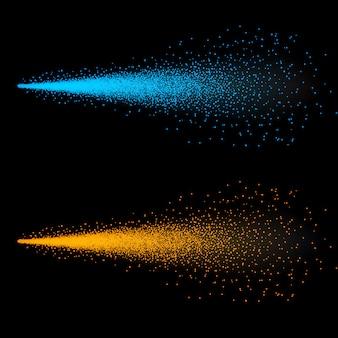 Nebulizzazione di acqua nebulizzata, atomizzatore a nuvola, spruzzatore a grilletto.
