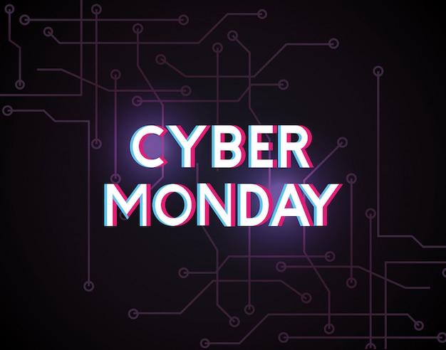 Negozio di cyber lunedì