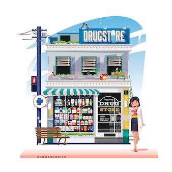 Negozio di droga o negozio di farmacia
