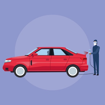 Negozio di garage per auto