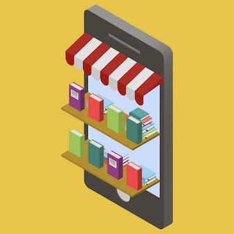 Negozio di libri online