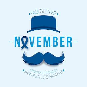 Nessun mese di consapevolezza della rasatura per il cancro alla prostata