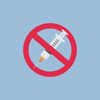 Nessun segno di droga