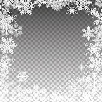 Nevoso trasparente
