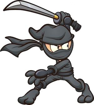 Ninja dei cartoni animati