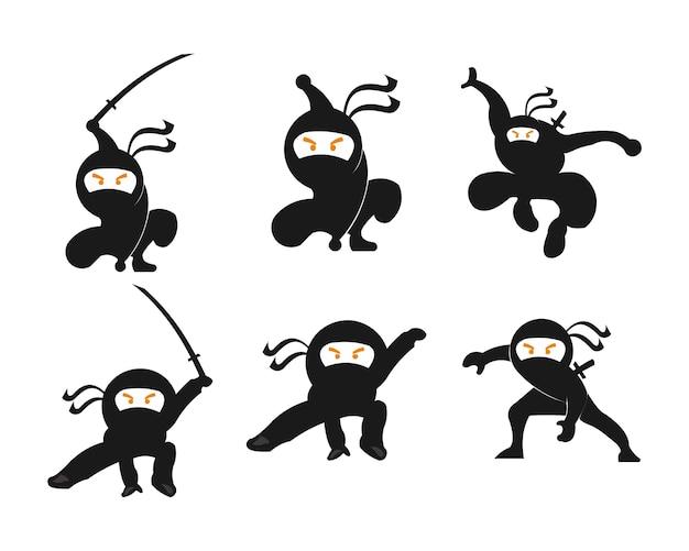 Ninja samurai warrior fighter character