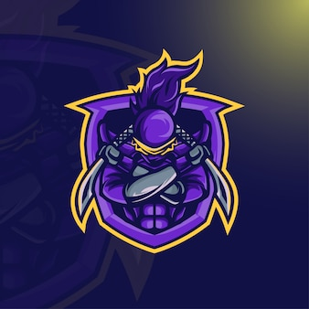 Ninja warrior mascot