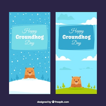 Nizza striscioni groundhog day