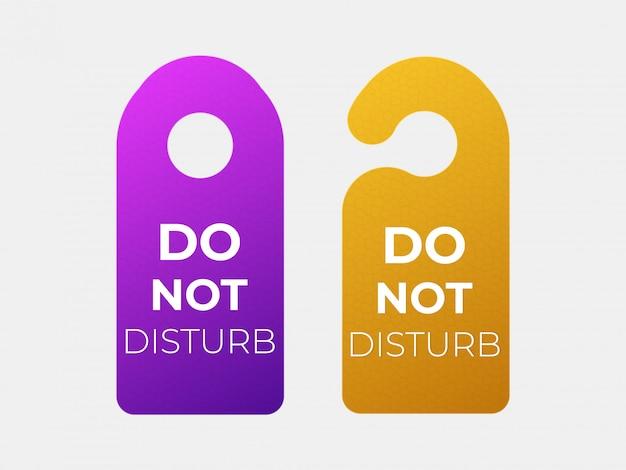 Non disturbare il segno