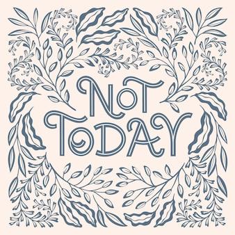 Non oggi un colore