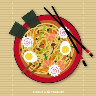 Noodles asiatici