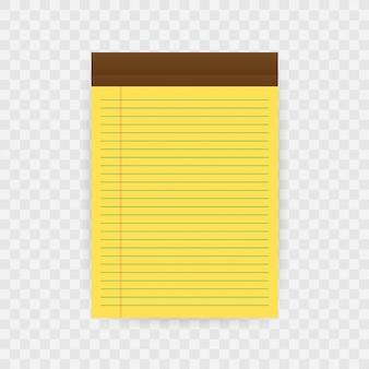 Notebook con spazio di copia