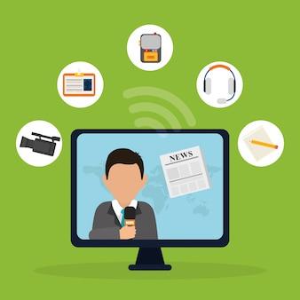Notizie multimediali e trasmissioni