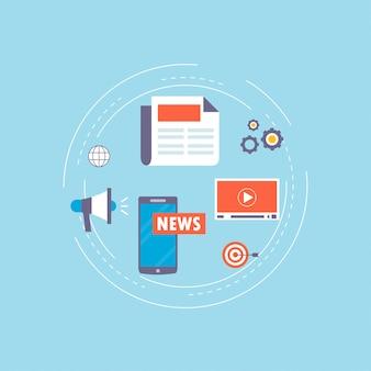 Notizie online, giornali, sito di notizie