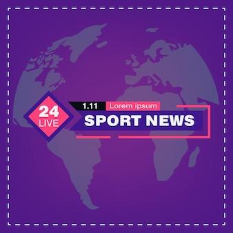 Notizie sportive tv