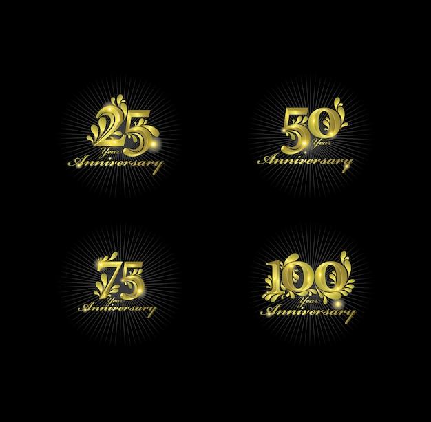 Numeri d'oro dell'anniversario