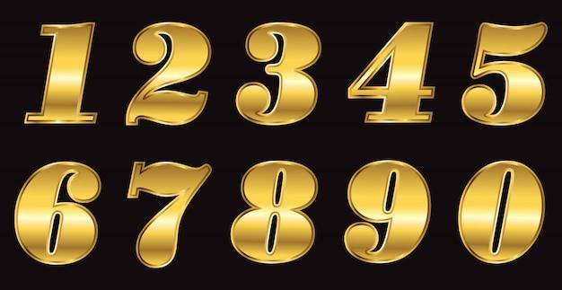 Numeri d'oro di lusso